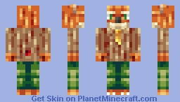 Fantastic Mr Fox! Minecraft Skin