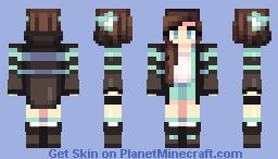 aqua Minecraft Skin