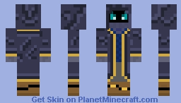 SA10 Requested Skin - Blue/Purple Mage Minecraft Skin