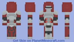 Sith Warrior || SWTOR || Inspired by Imperial Bastion Armor Set Minecraft Skin