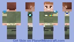 Achium UN Soldier Minecraft Skin