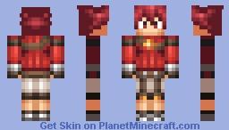 Elsword Elsword skin Minecraft Skin