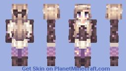 Edgy Angle Minecraft Skin