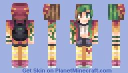 Run Up Minecraft Skin
