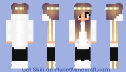 Fajna dziewczyna Minecraft Skin