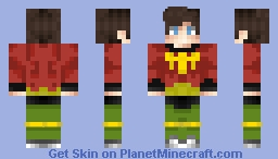 Ultraboy DC comics Minecraft Skin