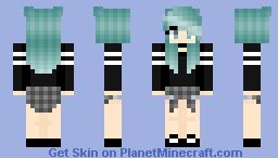 tomboy Minecraft Skin