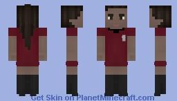 Uhura-Star Trek Minecraft Skin