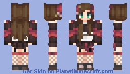 ☆ Japanese Kimono Girl ☆ Dragon Coloured Minecraft