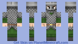 Viking Warrior Minecraft Skin