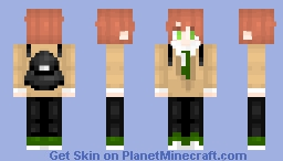 I'm so sorry e-e (Yuri from Never Understand/Out Of Control) Minecraft Skin