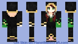 Witch of the swamp Minecraft Skin
