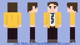 Dirk Gently Minecraft Skin