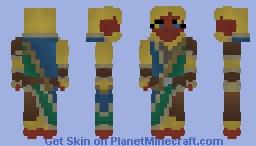 [LoTC] Lieren-Zhisi, The Battle-Monk. Minecraft Skin