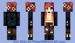 🌹Fiery Minecraft Skin