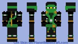 Green ninja Ninjago Minecraft Skin
