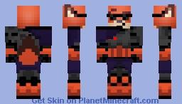 Nick Wilde Shadow Fox Hunter Skins Minecraft Skin