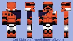 First Order Fox Hunter Captain 2016 Minecraft Skin