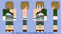Beginner Link (Twilight Princess) Minecraft Skin