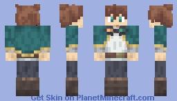 Satou Kazuma KonoSuba 4 Wide Arms Minecraft Skin