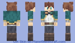 Satou Kazuma KonoSuba 3 Wide Arms Minecraft Skin