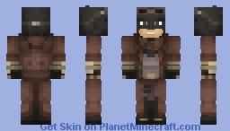 Knightmare Batman | Batman v Superman Minecraft Skin