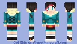 Miaka Snowington Minecraft Skin