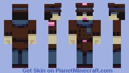 Pistol Packin' Mama [PBL] Minecraft Skin