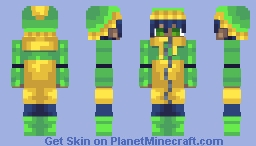 Raincoat Minecraft Skin