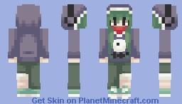 tsubomi kido // mekakucity actors Minecraft Skin