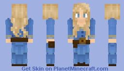 Westworld - Dolores Abernathy (S1 E1-E5) Minecraft Skin