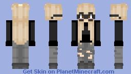moonbyul - mamamoo ~ suga Minecraft Skin