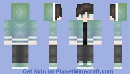 Ombre Jacket Boy Minecraft Skin