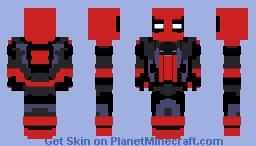 Combat Ready Spider-Man Minecraft Skin