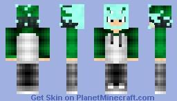 Cyan Symbiote Face (Request) Minecraft Skin
