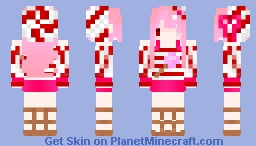 Dessert girl - Lollipop Minecraft