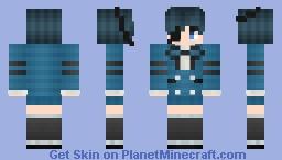 Ciel Phantomhive (Black Butler) Minecraft Skin