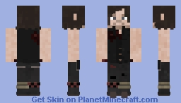 Daryl Dixon [6x16] // The Walking Dead Minecraft Skin
