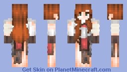 Mercenary | female soldier 1 /4 Minecraft