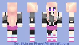 IA Vocaloid       {Cherry} Minecraft Skin