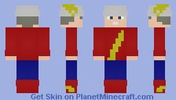 Jay Garrick (Dc) Minecraft Skin