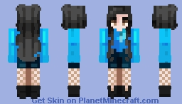 BLACKPINK JiSoo's BOOMBAYAH (붐바야) outfit Minecraft Skin