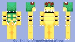 Bowser (Mario) Minecraft Skin