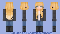 Leather Jacket  ∫∫  Personal Minecraft Skin