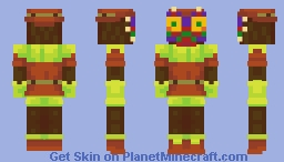 Majora (The Legend of Zelda) Minecraft Skin