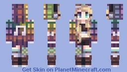 Plaid Rhythm Minecraft Skin