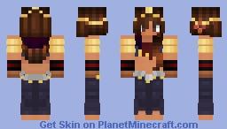 Exotic Female Dancer Minecraft Skin