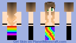 Pride Girl Minecraft Skin