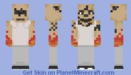 El Diablo (Suicide Squad) 2017 Minecraft Skin