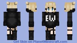 ew ~ ɐƃus Minecraft Skin